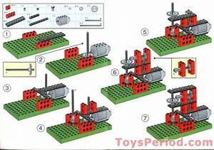 Lego 1033 Building Instructions For Set 1032 Set Parts
