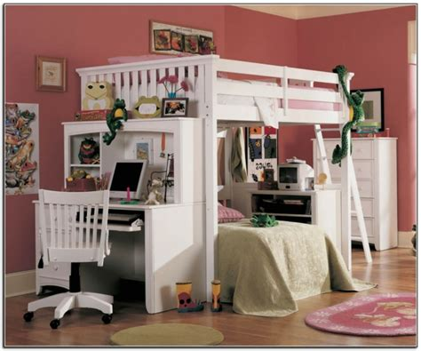 chambre fille lit mezzanine le lit mezzanine et bureau plus d 39 espace