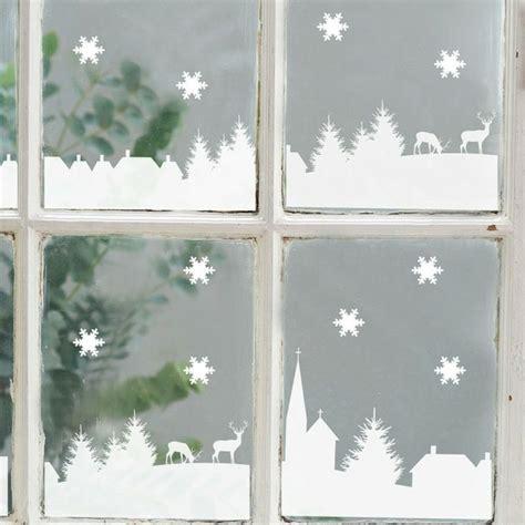 Weihnachtsdeko Fürs Fenster Selber Machen by Fensterbilder Zu Weihnachten Originelle Bastelideen Zum