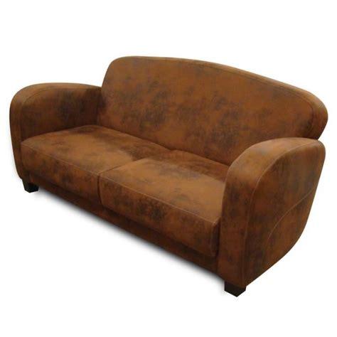 canape cuir vieilli canapé 3 places imitation cuir vieilli achat
