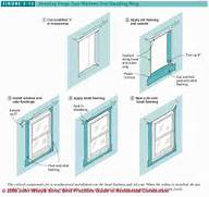 Installing New Exterior Door In Existing Frame by How To Install Window Skylight Flashing Sealants