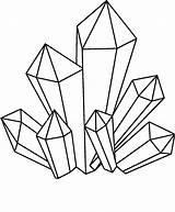 Crystal Drawing Cluster Crystals Clipart Draw Simple Meanings Clipartmag Drawn Stones Gems Drawings Clip Stone Google Geometric Choose Mountain Outline sketch template
