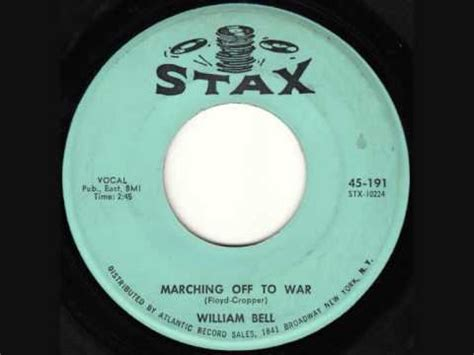 Eddie Floyd Don T Rock The Boat by William Bell Marching To War Listen