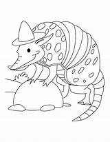 Spy Coloring Armadillo Rodeo Printable Cartoon Gear Clown Sloth Sheets Animals Getcolorings Template Adults Cool Animal Popular Colori Bestcoloringpages sketch template