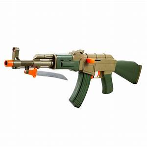 Kids Army. AK-47 Soft Bullet Toy Gun