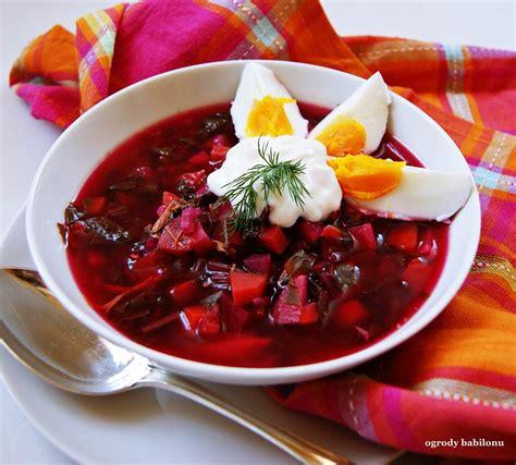 ogrody babilonu: botwinka wiosenna zupa