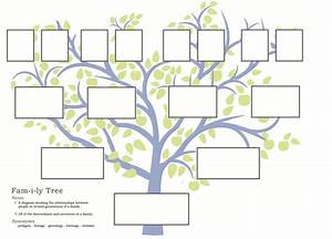 family tree template family tree template that you can With blank family tree template for kids