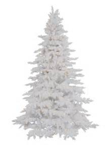 tree market flocked white spruce artificial trees