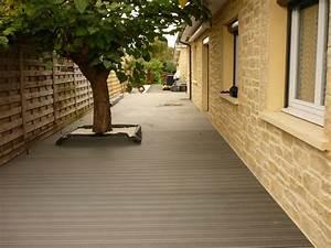 Dalle De Terrasse Composite : dalle bois composite maison design ~ Melissatoandfro.com Idées de Décoration