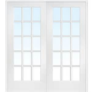 interior door home depot mmi door 73 5 in x 81 75 in classic clear glass 15 lite interior door z009322ba