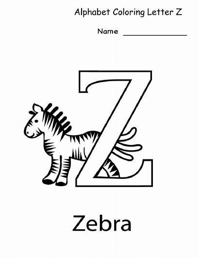 Letter Kindergarten Printable Worksheets Worksheet Coloring Alphabet