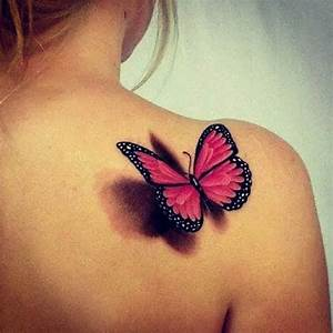 Beautiful, Beautiful tattoos and 3d butterfly tattoo on ...