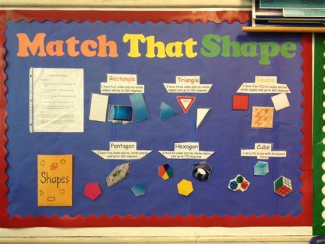 second grade interactive bulletin board for shapes the 202 | 2b806b52fc1464e1649321c2fd6e68e7 project ideas projects