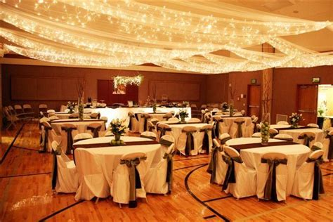 ceiling decorations for weddings receptions the ceiling canopy made you forget you were in a
