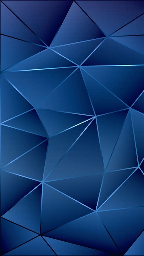 Blue Wall #geometric #pattern #abstract #texture #