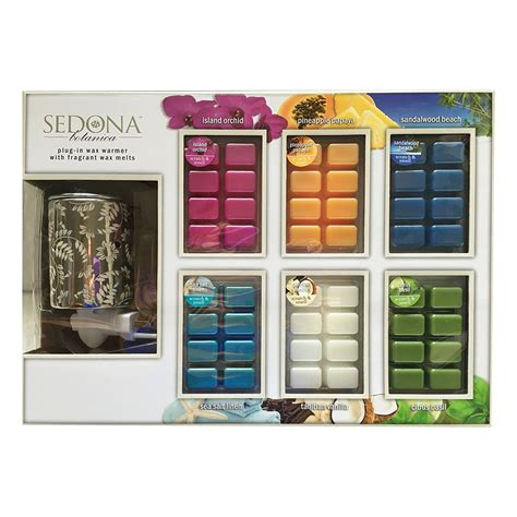 sedona botanica plug  wax warmer  packs  fragrant