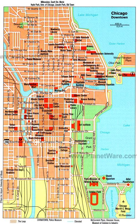 Chicago Boat Tour Map by 14 Top Tourist Attractions In Chicago Planetware