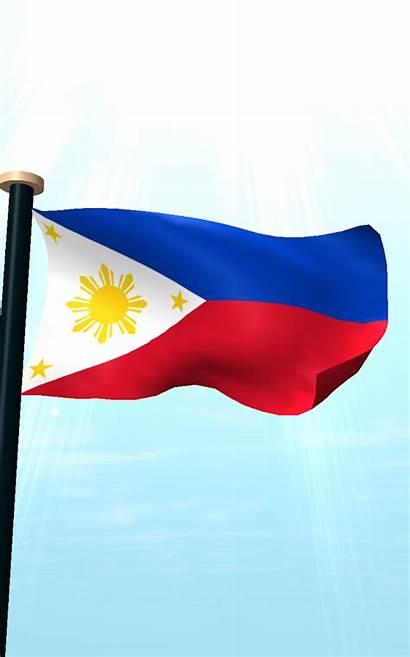 Flag Philippine Clip Clipart Flagpole Philippines Pole