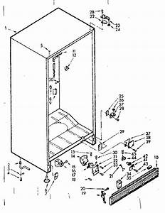 Kenmore Coldspot Freezers Parts