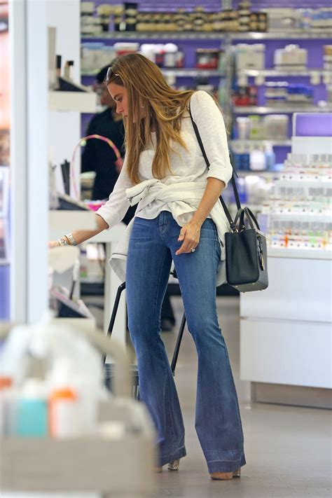 Sofia Vergara In Jeans Out In New York City April 2014