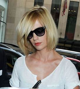January Jones Short Bob Hairstyle With Layers Hairstyles