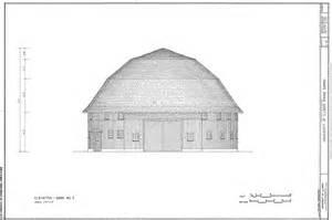 University of Illinois Round Barn Drawings