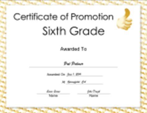 6th Grade Graduation Certificate Template Diplomas Free Printable Certificates