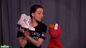 Sesame Street: Elmo and Team USA Gold Medalist Sarah ...