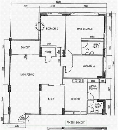 Ris Pasir Floor Hdb Street Plan Plans