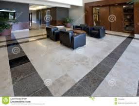 kitchen island options office lobby showing tile floor stock image image 11932461