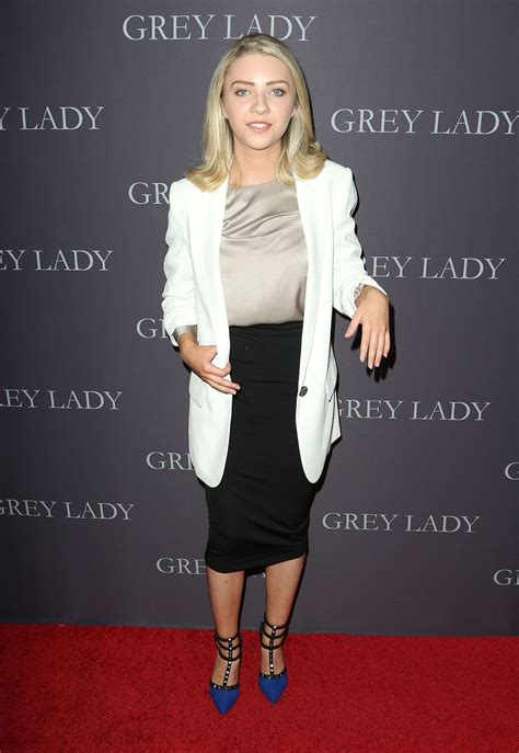 ELISE LUTHMAN at Grey Lady Premiere in Los Angeles 04/26 ...