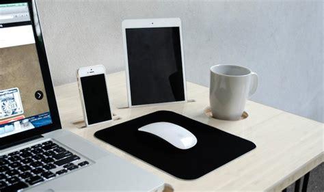 imac bureau kickstarter un bureau conçu pour le mac avec un dock