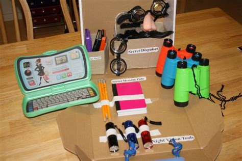 Top Secret Team Spy Kit  Diy  Dramatic Play, Plays And Tops