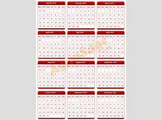 Printable 2012 Calendar to Print Free 2012 Calendar