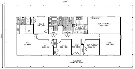 single 5 bedroom house plans 5 bedroom house plans 1 house design plans