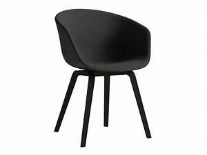 Chaise Tissu Noir : chaise ronde tissu ~ Teatrodelosmanantiales.com Idées de Décoration