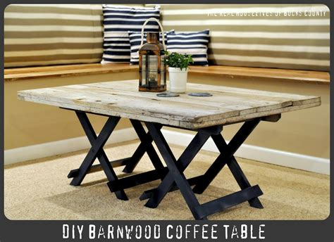 Reclaimed Barn Wood Coffee Table-infarrantly Creative