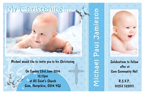 baptism card template free baptism invitation template free baptism invitation