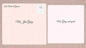 how to address wedding invitations southern living With name of wedding invitation envelope