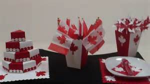 simple decorations for canada day
