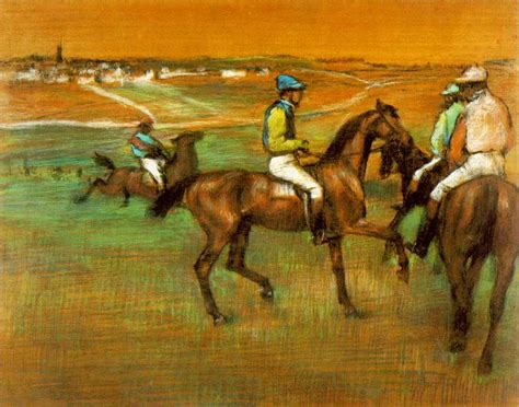 horses famous paintings degas race horse painting artists racing artist edgar most painter paint drawings painted impressionist known sculpture races