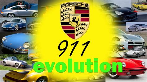 porsche  evolution history  porsche  series top