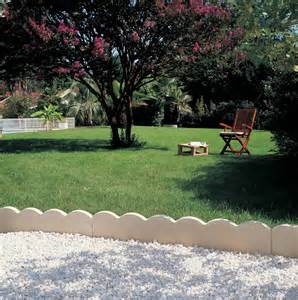 Bordures De Jardin En by Bordures De Jardin Services B T P I Sbtpi