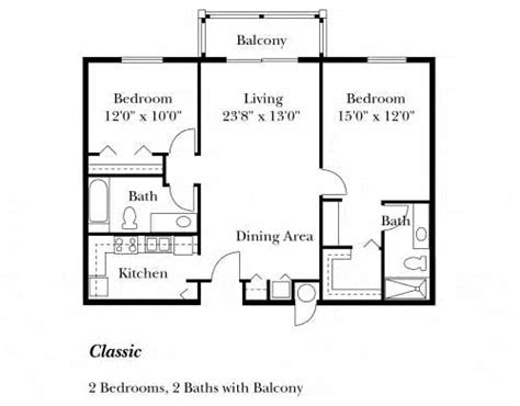 82 best images about 2-bedroom floorplan on Pinterest ...
