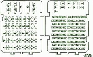 1993 Chevrolet Cavalier Rs Fuse Box Diagram  U2013 Circuit