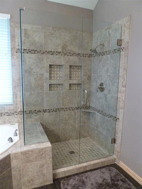 Bathroom Fixtures Tx by Contemporary Bathroom In Dallas Tranquil Corner Shower