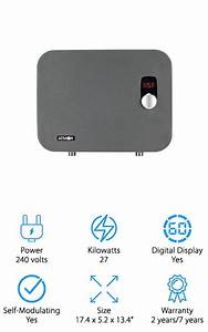 10 Best Electric Tankless Water Heaters 2019  Buying Guide