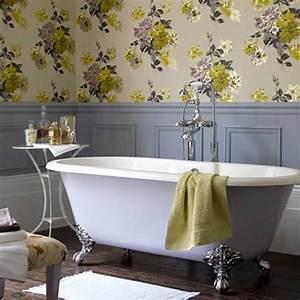 Papier Peint Pour Salle De Bain : tapisserie salle de bain zen ~ Dailycaller-alerts.com Idées de Décoration