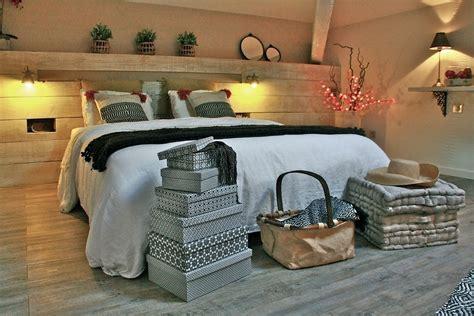 tete de lit chambre deco chambre esprit nature raliss com
