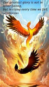 Quotes About Th... Phoenix Bird Tattoo Quotes